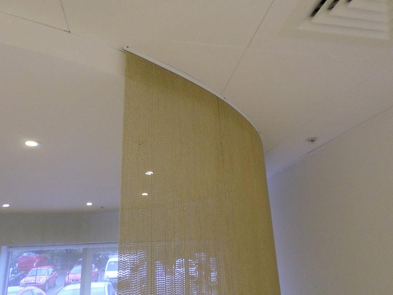 Linea Bead Curtain Reception Area Ben Johnson